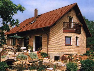 дом из полнотелого кирпича