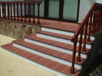 Клинкерные ступени, ступени для лестницЮ ступени купить