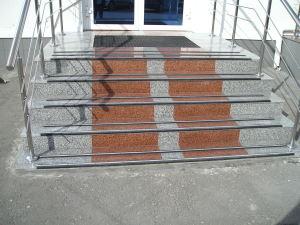 Клинкерные ступени, санкт петербург ступени, плитка керамическая промышленная