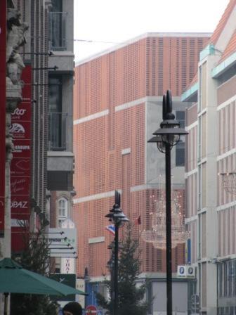 Паркинг, Бремен, Германия клинкерный кирпич Rot Longformat