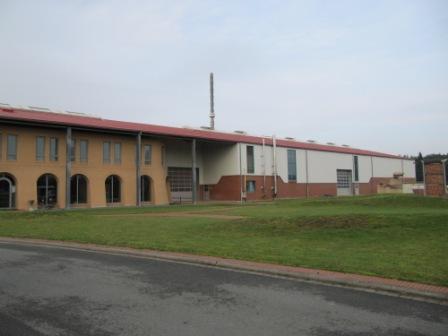 Открытая складская площадка завода Abc klinkergruppe